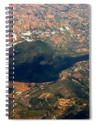 Aerial Photography - Hill Like A Big Mouse  Spiral Notebook