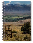 Aerial Tramway Towers Spiral Notebook