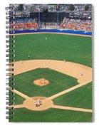 Aerial View Of A Stadium, Dodger Spiral Notebook