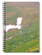Aerial View Of Alaskan Landscape Spiral Notebook