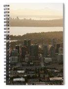Aerial View Of Bellevue Skyline Spiral Notebook
