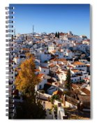 Aerial View Of Comares Village, One Spiral Notebook