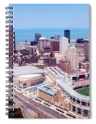 Aerial View Of Jacobs Field, Cleveland Spiral Notebook