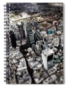 Aerial View Of London 3 Spiral Notebook
