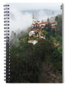 Aerial View Of Monserrate Church Spiral Notebook