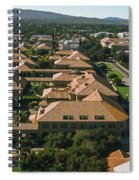 Aerial View Of Stanford University Spiral Notebook