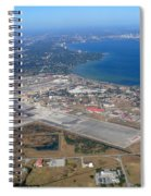 Aerial View Of Tampa And St. Petersburg Spiral Notebook