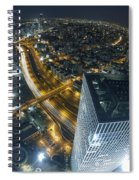 Aerial View Of Tel Aviv Spiral Notebook