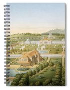 Aerial View Of The Villa Of King Spiral Notebook