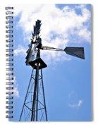 Aermotor Windmill Spiral Notebook