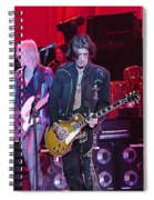 Aerosmith-joe Perry-00019-1 Spiral Notebook