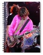 Aerosmith - Joe Perry -dsc00121 Spiral Notebook
