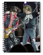 Aerosmith - Joe Perry -dsc00182-2-1 Spiral Notebook