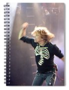 Aerosmith-steven Tyler-00193 Spiral Notebook