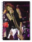 Aerosmith - Steven Tyler - Dsc00072 Spiral Notebook