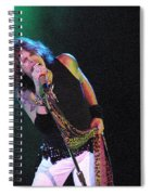 Aerosmith - Steven Tyler -dsc00139-1 Spiral Notebook