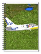 Aerovodochody L39. Spiral Notebook