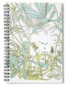Aesop: Ant & Grasshopper Spiral Notebook