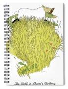 Aesop: Wolf & Sheep Spiral Notebook