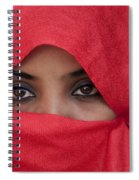 Africa, Ethiopia, Close Up Of Young Spiral Notebook