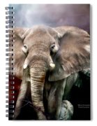 Africa - Protection Spiral Notebook