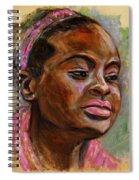 African American 3 Spiral Notebook