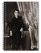 African American Boy, C1899 Spiral Notebook