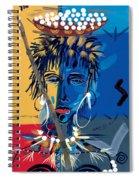 African Beauty 1 Spiral Notebook