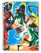 African Dancers No. 2 Spiral Notebook
