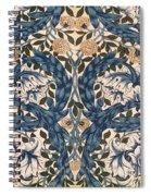 African Marigold Design Spiral Notebook