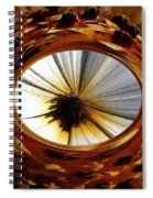 African Moon Abstract Spiral Notebook