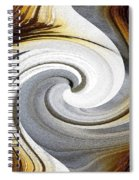 African Moon Twirls Spiral Notebook