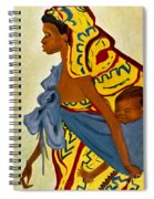 African Mother And Child Spiral Notebook