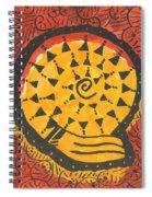 African Shell Pattern Spiral Notebook