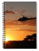 African Sunset II Spiral Notebook