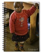 African Toddler Spiral Notebook