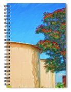 African Tulip And Fuel Tanks Spiral Notebook