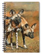 African Wild Dogs Spiral Notebook