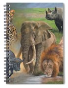Africa's Big Five Spiral Notebook