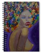 Afro-chic Spiral Notebook