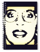 Afro Woman Spiral Notebook