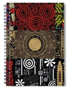 Afroecletic II Spiral Notebook