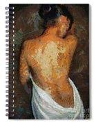 After A Bath Spiral Notebook
