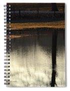 After A Long Winter Rain Spiral Notebook