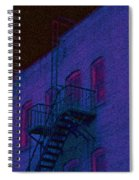 after hours glow -Seurat Style Spiral Notebook