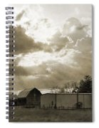 After The Storm On The Farm Spiral Notebook