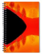 Afterglow Spiral Notebook