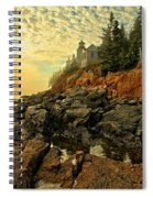 Afternoon At Bass Harbor Spiral Notebook