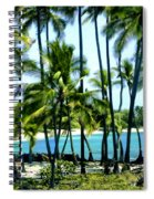 Afternoon At Kakaha Kai Spiral Notebook