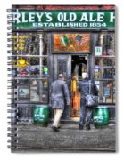 Afternoon At Mcsorley's Spiral Notebook